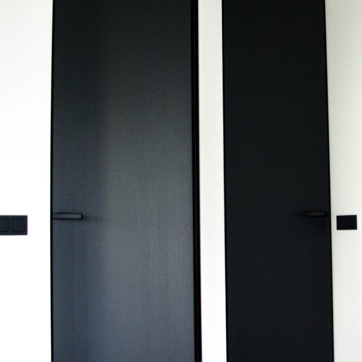 Išskirtinės ąžuolo lukšto vidaus durys